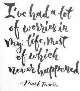 worries -in-life